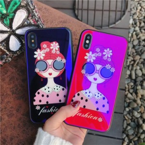 """iphone7 ケースiphonex iPhone8Plus ケース iPhone7 Plus ケース iphoneX ケース 強化 ガラス iphone スマホケース カバー アイフォン"""