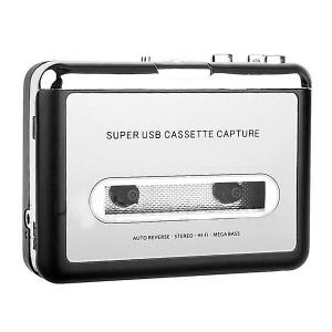 小型カセットテープ デジタル変換プレーヤー【カセットテープMP3変換プレーヤー】