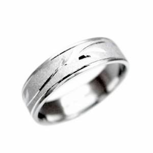 指輪 大きいサイズ 鍛造(たんぞう) P900平打ボタニカル彫リング巾5mm8g プラチナリング 彫金 マリッジ オリジナル