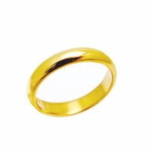 指輪 大きいサイズ 鍛造(たんぞう) K18甲丸(こうまる)リング巾5mm8.5g ゴールドリング オリジナル オーダーリング 結婚指輪
