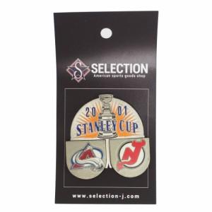 """NHL ピンバッジ/ピンズ 2001 スタンレーカップ レアアイテム"""
