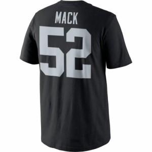 NFL レイダース カリル・マック プレイヤー プライド ネーム&ナンバー Tシャツ ナイキ/Nike【180921変更】