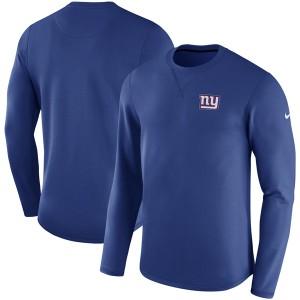お取り寄せ NFL ジャイアンツ サイドライン モダン ロングスリーブ スウェット ナイキ/Nike ロイヤル