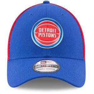 お取り寄せ NBA ピストンズ オンコート 39THIRTY フレックス キャップ/帽子 ニューエラ/New Era ブルー