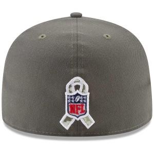 お取り寄せ NFL ブロンコス 2017 Salute To Service 59FIFTY フィッテッド キャップ/帽子 ニューエラ/New Era