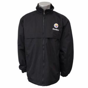 NFL スティーラーズ トリンプ コーチジャケット ダンブルック/Dunbrooke ブラック【1810NFL】
