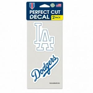 MLB ドジャース パーフェクト カット デカール セット ステッカー/シール ウィンクラフト/WinCraft