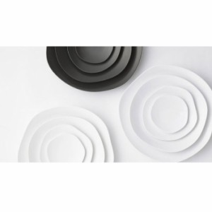 feuille お皿セット 艶なしマット プレート キッチン 食器 洋食器 4サイズ テーブルウェア 取り皿  皿料理  スタッキング 日本製  陶器