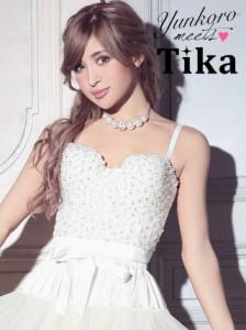 02253ae3e09fe Tika ティカ パールコルセット ホワイト 白 Mサイズ キャバ ドレス コルセット キャバドレス ナイトドレス パーティ