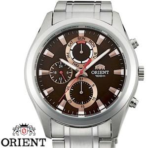 66d79c86ab ORIENT オリエント FUY07002T0 メンズ 腕時計 ブラウン