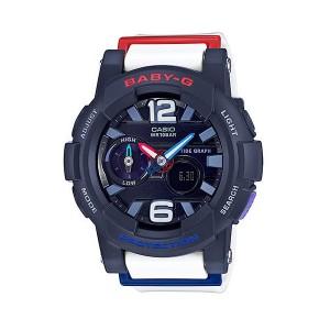 CASIO/BABY-G/カシオ ベビーG Gライド G-LIDE 腕時計 うでどけい レディース LADIE'S ネイビー BGA-180-2B2JF