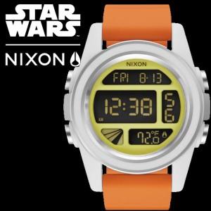 【海外正規品】【NIXON STAR WARS】二クソン NIXON STAR WARS スターウォーズ イエロー オレンジ ホワイト A197SW 2384 00