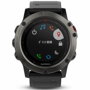 GARMIN(ガーミン) マルチ スポーツウォッチ fenix5x フェニックス5x Sapphire サファイア GPS 腕時計