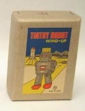 ブリキのミニロボット(シルバー) ブリキおもちゃの老舗Buriki-yaからお送り致します。