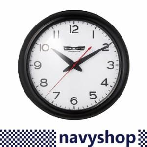 アートワークスタジオ オールドアメリカンクロック ブラック/ホワイト 掛け時計 直径35cm