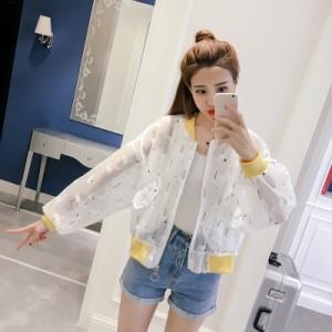 シフォンTシャツ ベンチコート ブラウス  長袖 レディース 韓国ファッション