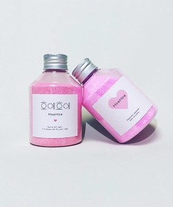 HoeHoe HoeHoe Bath Powder ローズの香り 入浴剤 220g (ホエホエ) 18C01