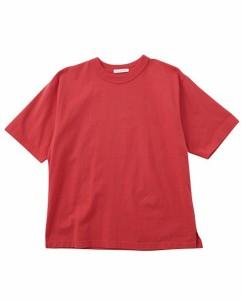 STYLEMIXER 裾スリットTシャツ 500BS180-0271