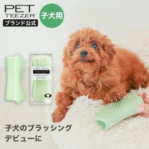 ペット ブラシ 公式 タングルティーザー 正規品 ペットティーザー パピー ペット用品 子犬 グルーミングブラシ 換毛期 抜け毛