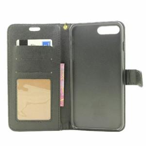 iphone8 ケース iphone7 ケース アイフォン カバー Apple 4.7インチ  保護カバー  手帳型 カード収納 PUレザー 軽量 ストラップ付き