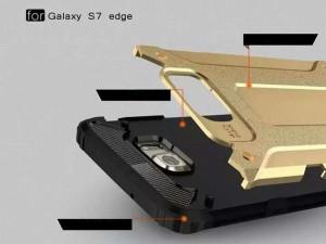 Galaxy S7 edgeケース ギャラクシー S7 エッジ ケース SC-02H/SCV33 背面カバー かっこい 2層構造 衝撃から守る