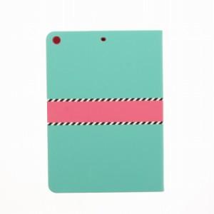 アイパッド iPad 5th 2017 9.7inch 手帳型ケース LEPLUS 【Lucy】ツートンカラー グリーン LP-IPP9LFGR /在庫あり/ 送料無料 タブレット