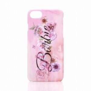 iPhone7 ケース バービー Barbie Design プリントハードケース ロゴ柄 LP-BI7HSB /在庫あり/ アイフォン7 カバー アイフォーン スマホケ
