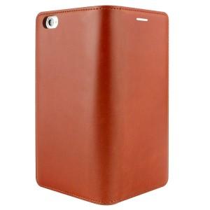 送料無料 iPhone6s / 6 レザー ケース 本革 Flip Easy Diary モカブラウン 手帳型 LB6656iP6S /在庫あり/ アイフォーン シックスエス ス