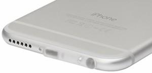 iPhone6 Lightning コネクタ / イヤホン TPUダブルキャップ クリア OCP-iP601/ 在庫あり/ アイフォーンシックス ライトに二ング キャッ