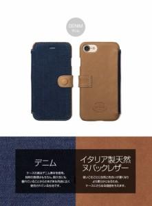 iPhone7 ケース zenus Denim Vintage Pocket Diary デニム 手帳型 本革 Z44580i7 /在庫あり/ 送料無料 スマホケース アイフォーン7 アイ