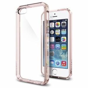 e43b8c1f9a iPhone SE ケース iPhone5s/5 カバー spigen ウルトラ ハイブリッド ローズ クリスタル 041CS20172/スマホケース  SE