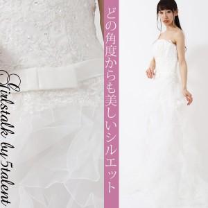 decda5c944964 訳あり限定入荷☆ウェディングドレス本番用☆純白ホワイトxレースとビジューのボリュームドレス☆ キャバ 結婚式 大きいサイズ