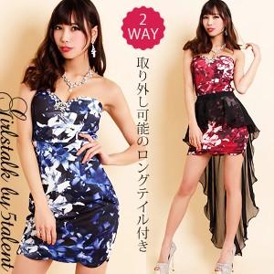 e3b26b7e4e29a  Lサイズ 2WAY☆ミニもロングも楽しめるドレスの究極系☆