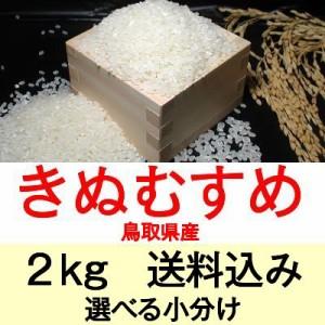 29年産 鳥取県産きぬむすめ2kg便利な選べる小分け