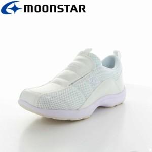 ムーンスター レディース 医療シューズ 靴 オモイヤリ506 ホワイト 看護師 ナース ワークシューズ