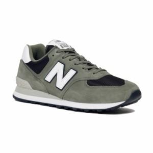 e3701034e573b2 送料無料 ニューバランス メンズ/レディース スニーカー 靴 NB ML574 ESP D ミネラルグリーン 人気574 スニーカー