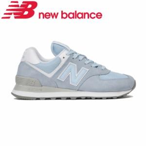 5278325c8306aa 送料無料 ニューバランス レディース スニーカー 靴 NB WL574 ESC B ライトブルー 人気574 細身B