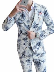 スタイリッシュスーツメンズスーツ 3点セット スーツスリムスーツ メンズビジネススーツチェック柄