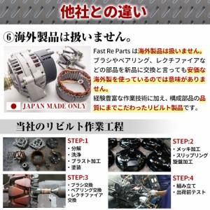 【リビルト】ミラ用(L500S/L510S)オルタネーター 27060-97203
