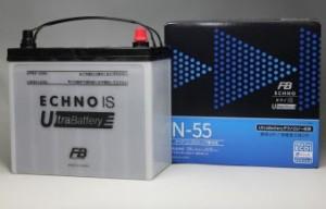 N55R(B24R)/N55(B24L) アイドルストップ車・通常車用ECHNOバッテリー 古河電池