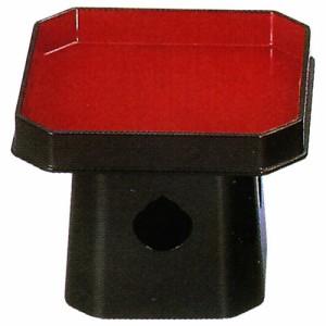 神具 折敷   四角三宝 樹脂製 7.0寸   奥行205×幅205×高165mm 内箱(袋) 奥行222×幅222×高158m