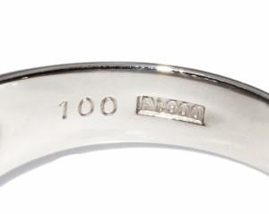 Pt900 ダイヤ1.00ct 指輪(リング) 13号
