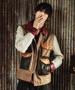 glamb グラム Hunting leather JKT ハンティングレザージャケット