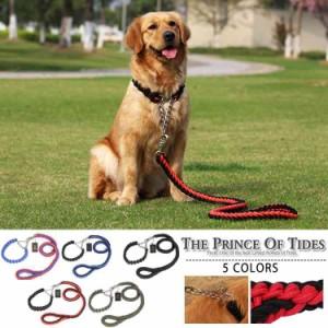 犬極太リードペット用リード選べる3サイズ5色大型犬