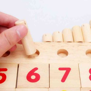 82b29fc3c9726c 木のおもちゃ 数字 数遊び 木製 子供 幼児 教育 おもちゃ/知育玩具. cttt72718