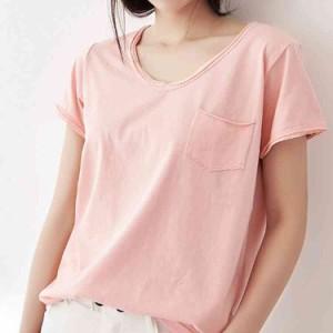 Tシャツ 半袖 レディース 夏Tシャツ サマーTシャツ 無地Tシャツ カジュアルTシャツ カットソー トップス シンプルTシャツ