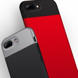 バイカラー スマホケース スマホカバー 分離式 携帯ケース アイフォン ケース 薄型 軽量 iPhone7 iPhone7plu