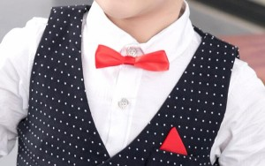 ドット柄スーツ 男の子 スーツ 90~140cm 子供スーツ キッズ 子供服 フォーマル ピアノ発表会 結婚式 タキシード 韓国風