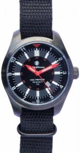 """""""〇〇(メンズ腕時計。) Smith & Wesson SWW-1864T Military Tritium Watch with Coated Brass Case and 3-Interchangeable Straps, Bla"""""""