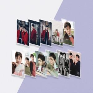 TVXQ(東方神起) A4サイズ 下敷き01 コーティング仕上がり ★韓流 グッズ 韓国商品 韓流ショップ